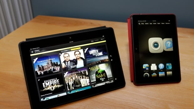 Amazon unveiled its Kindle HDX tablets in Seattle Tuesday, which come in a 8.9-inch version and a 7-inch version. Both are significantly faster and lighter than the previous generation of Kindle HD tablets.