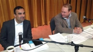 Vijay Gill and Simon Enoch