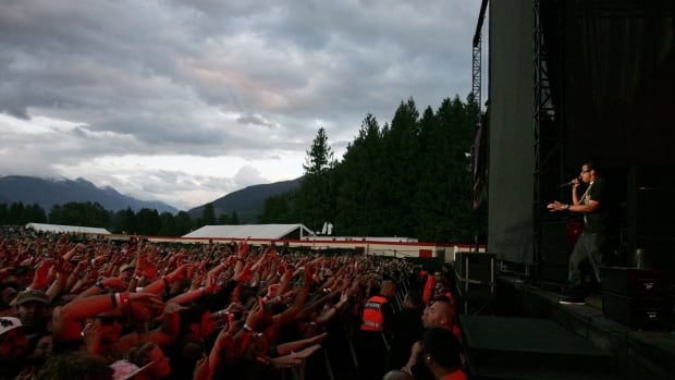 Jay-Z performs at the Pemberton Festival in 2008. Live Nation cancelled further