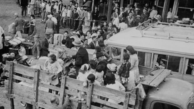 Many Japanese Canadians were uprooted from their homes along the West Coast and relocated to internment camps in the B.C. Interior and across Canada during the Second World War.