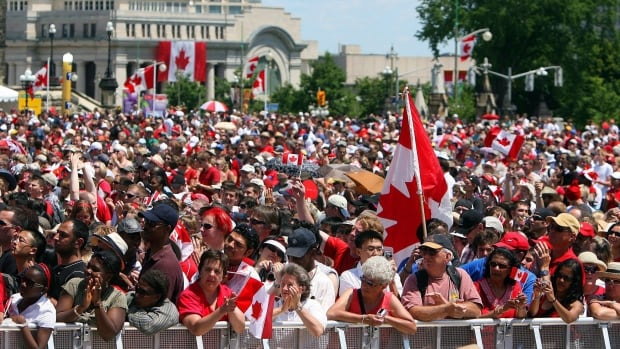 Statistics Canada released the country's latest population estimate on Thursday, and it's now 35,158,300.