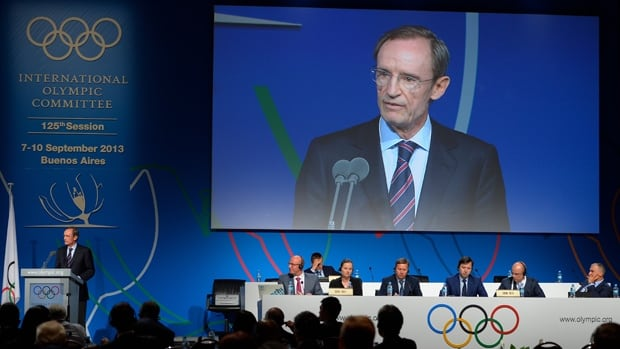 Jean-Claude Killy told reporters Thursday that Russia's law banning gay propaganda doesn't violate the Olympic charter.