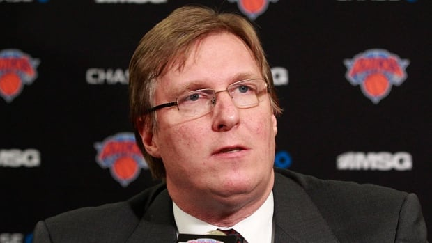 Former Knicks GM Glen Grunwald, who was fired on Thursday, constructed much of the roster that helped the NBA team win a playoff series last season for the first time since 2000.