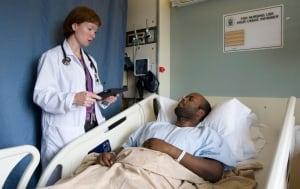 Hospital iPads