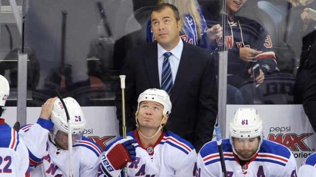New York Rangers head coach Alain Vigneault and his club will make his first trip to Vancouver tonight.