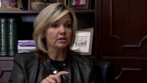 Alberta's Associate Minister of Family and Community Safety Sandra Jansen