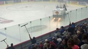 Foggy Sudbury Arena