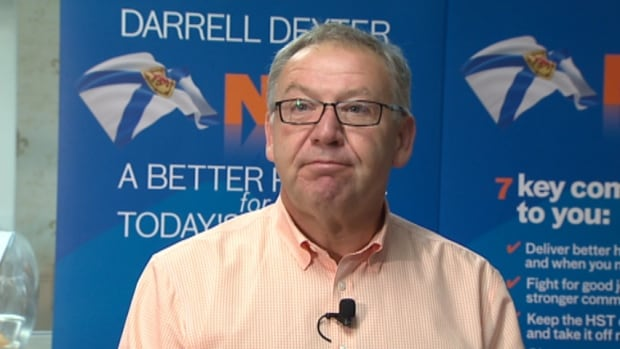 New Democrat Leader Darrell Dexter says the party will pay $363 back to Elections Nova Scotia.