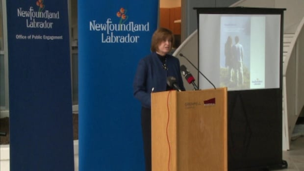 Cabinet minister Joan Shea launched the Population Growth Strategy on Thursday.