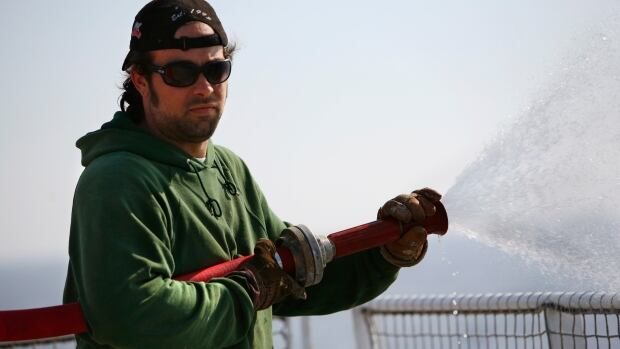 Alexandre Paul of Montreal, was a deckhand aboard the Greenpeace ship Arctic Sunrise.