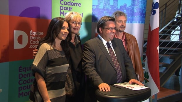 Denis Coderre unveiled his cultural platform Thursday. In it, he promised major celebrations for Montreal's 375th anniversary.
