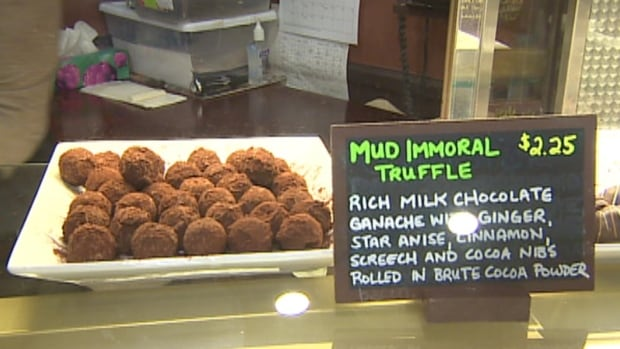 The Newfoundland Chocolate Company is donating sales from its Mud Immortal-inspired truffle to the Alzheimer Society of Newfoundland and Labrador.