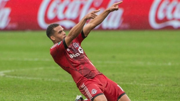 Toronto FC 's Darel Russell and his teammates will be hoping to take down D.C. United on Saturday.