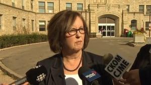CEO Maura Davies - Saskatoon health region