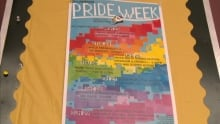 Pride week poster Corner Brook