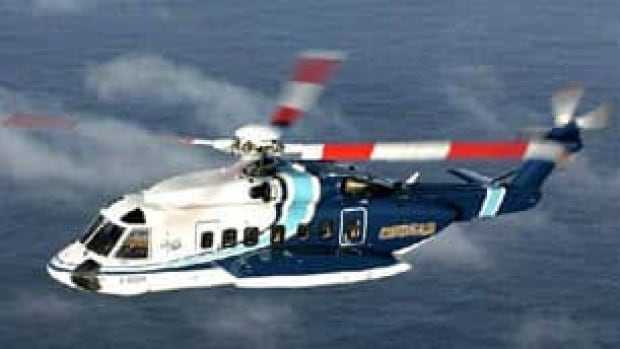 The Cougar Helicopter was stranded for five days on an offshore oil platform.
