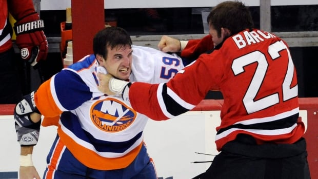 Krys Barch was reacquired from the New Jersey Devils by the Florida Panthers on Saturday.