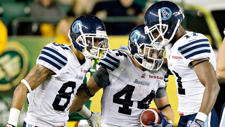 Toronto Argonauts play...