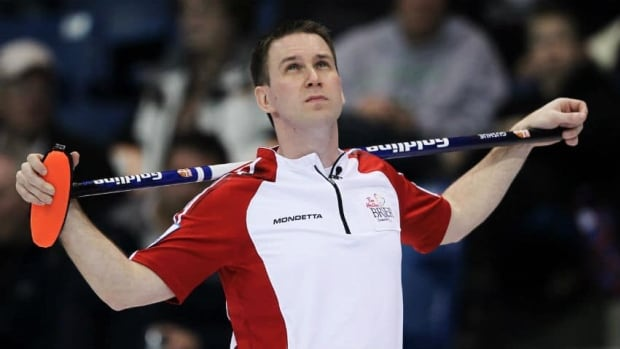 Brad Gushue, pictured here at the 2012 Tim Hortons Brier, is part of a committee submitting a bid for St. John's to host the championship in 2017.