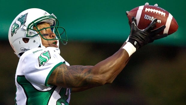Saskatchewan Roughriders slotback Geroy Simon has caught at last one pass in 182 consecutive games.