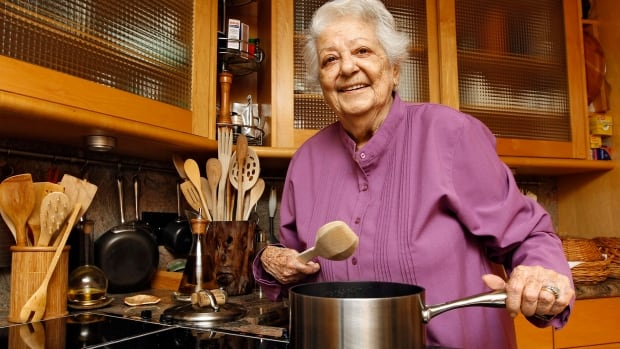 Marcella Hazan, seen in her Longboat Key, Fla., kitchen in May 2012, has died at the age of 89. The Italian-born cookbook author taught generations of Americans how to create simple, fresh Italian food.