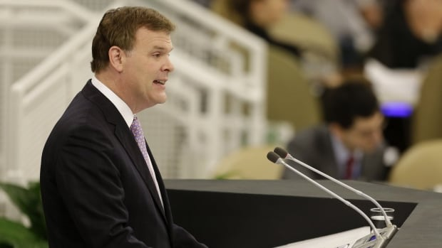 Foreign Affairs Minister John Baird at the UN in September. 'Deeply skeptical' about Iran's intentions.