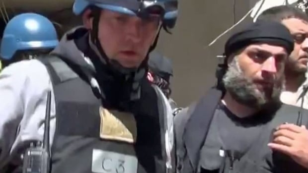Scott Cairns, a former Winnipegger, is among a group of UN chemical weapons inspectors in Syria.