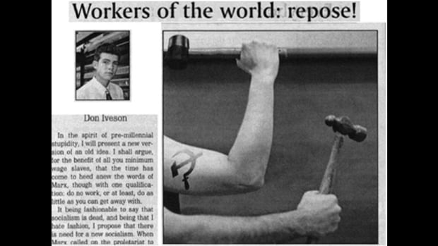"""A 14-year-old article written by mayoral candidate Don Iveson resurfaced Monday. In it, a younger Iveson calls for socialist revolution, advising readers to """"work within the system to undermine and minimize."""""""