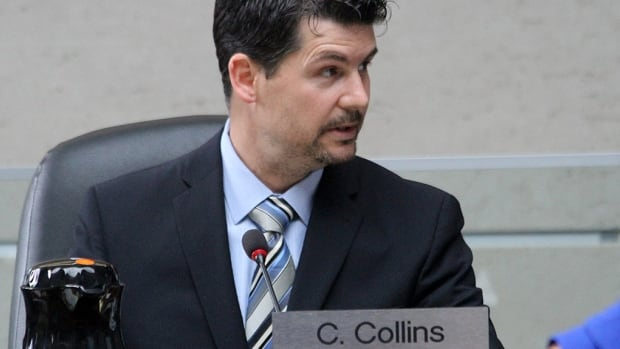 Chad Collins is the councillor for Hamilton's Ward 5.