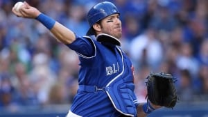 J.P. Arencibia batted just .194 and had 21 homers and 55 RBIs this season.