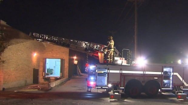 An investigation has been launched after a suspicious overnight fire at a Montreal catering business.