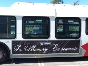 "Bus crash ""In Memory"""
