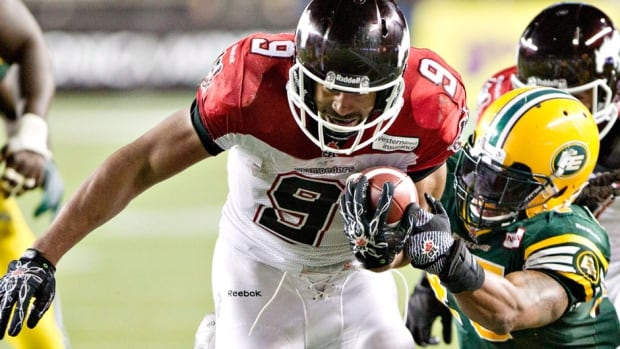 Stampeders running back Jon Cornish's best performance in September came on the sixth day in a win over Edmonton during which he rushed for 131 yards on 14 carries and had six receptions for 46 yards and a touchdown.