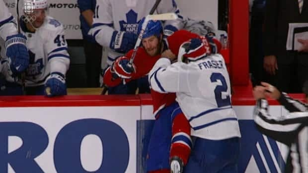 Opening night injury sparks debate over hockey fights