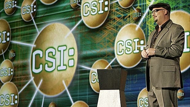 Anthony E. Zuiker, executive producer of the very successful CSI television franchise: Goldman Sachs owns 50 per cent of the rights to the popular TV series.