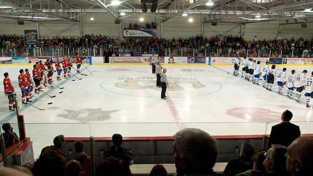 Several NHL hockey players took part in a charity hockey game in Chateauguay, Que., on Thursday, but there will be no offiical exhibition games this year.