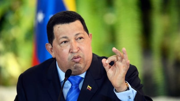 Despite fighting cancer, Venezuelan President Hugo Chavez has been actively campaigning for re-election. The vote is Oct. 7.