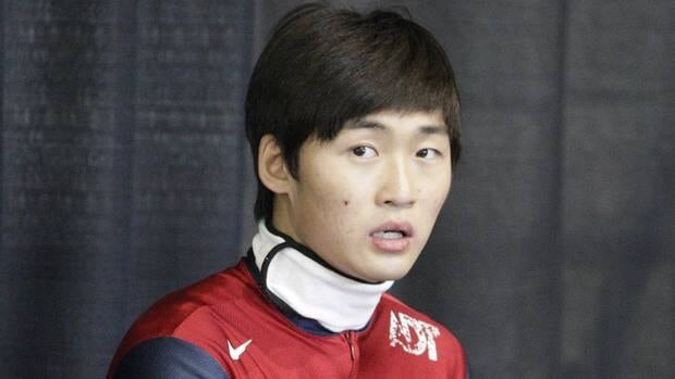 United States speedskater Simon Cho has admitted to tampering with Canadian Olivier Jean's skates.