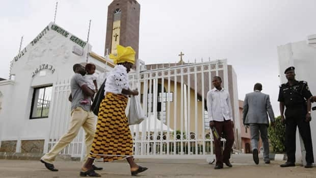 Churches are often a target in Nigeria's sectarian violence aimed at Christians.