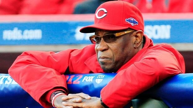 Cincinnati Reds manager Dusty Baker led the team to its second National League Central Division title in its past three seasons this year.