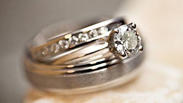 Jana Windsor's engagement ring.