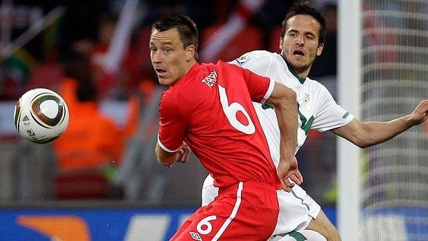 John Terry, seen at the 2010 World Cup, will represent England on the international stage later this summer.