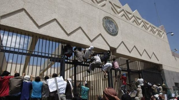 The Yemeni security chief of Yemen's U.S. Embassy —  which faced several protesters in September against a film  ridiculing Islam's Prophet Muhammad — in Sanaa has been assassinated, security officials said Thursday.