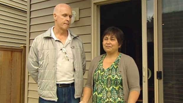 Wendell and Rena Krossa say they want protection from second-hand smoke blowing across the fence from the neighbours' backyard.