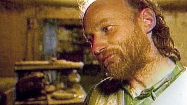 Two Vancouver police officers say they were focused on another suspect, not Robert Pickton, shown in this undated file television image in his Port Coquitlam, B.C. home.