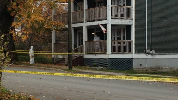 Police in Saint John continue to investigate after a fatal stabbing Saturday morning on Saint John's west side. (Matt Bingley/CBC)