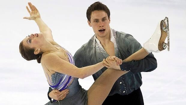 Canadians Margaret Purdy and Michael Marinaro currently find themselves in second place following the junior pairs program at the ISU Grand Prix Final in Sochi, Russia.