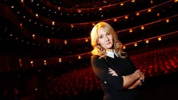 British author J.K. Rowling, seen at the Lincoln Center, travelled to New York this week to promote her first adult fiction book, The Casual Vacancy.