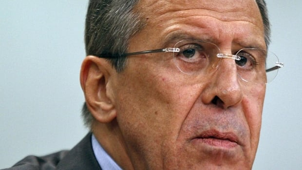 Russian Foreign Minister Sergey Lavrov has rejected a U.S. claim that Russia is sending attack helicopters to the Syrian military.