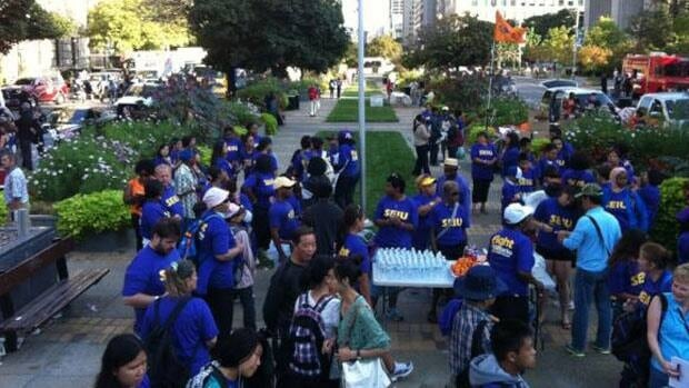 Toronto's 141st Labour Day Parade will began on University Avenue and finished at Exhibition Place.